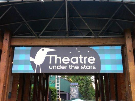 part 2 - theatre sign