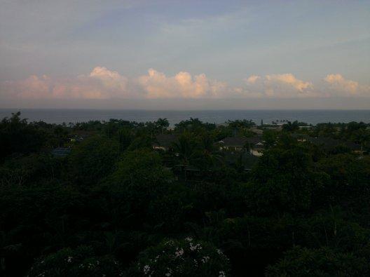 First morning in Hawaii - taken at 5:30am :-)