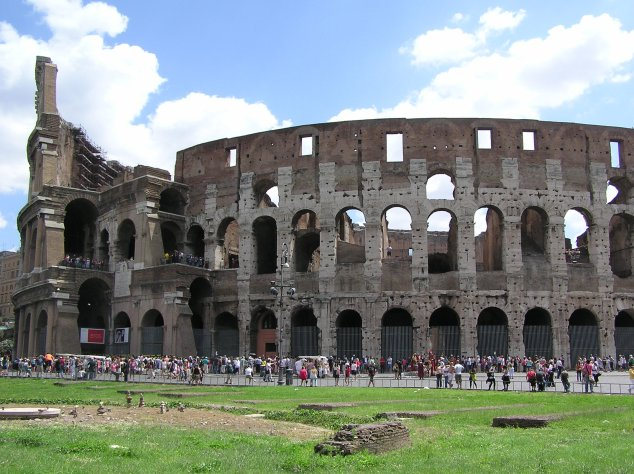 colosseum outside