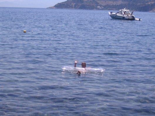float at sea