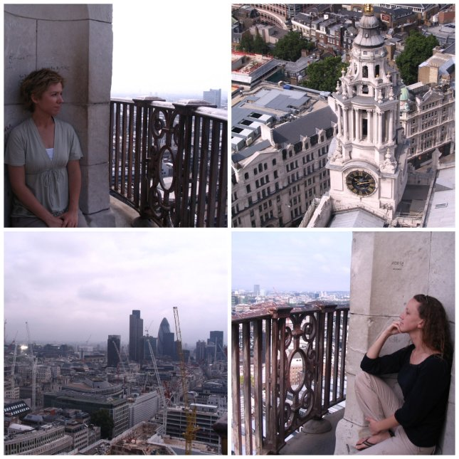 London has quite the crane collection as we discovered from our view atop St. Paul's