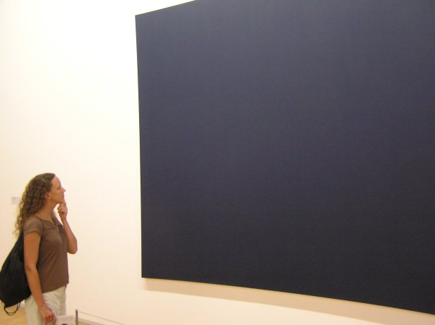 teresa and painting