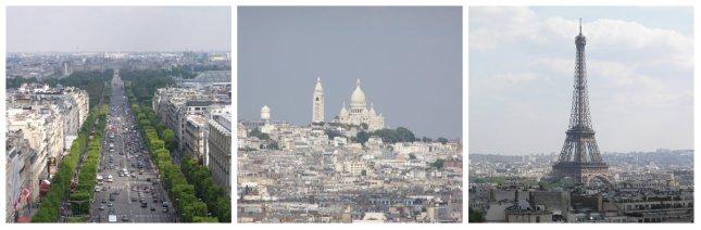 views from arc de triomphe