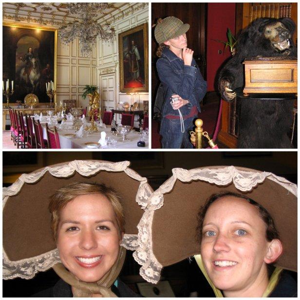 hats in warwick castle