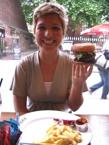 varsity hamburger