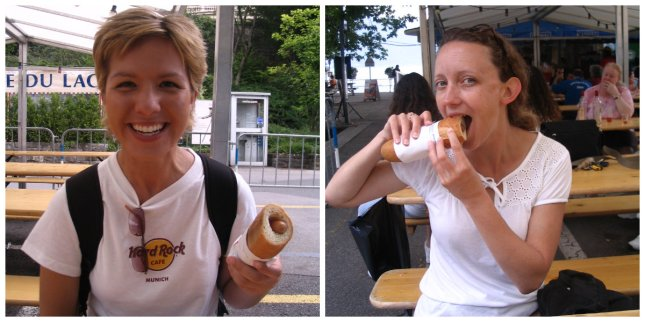 hot dogs in Montreux
