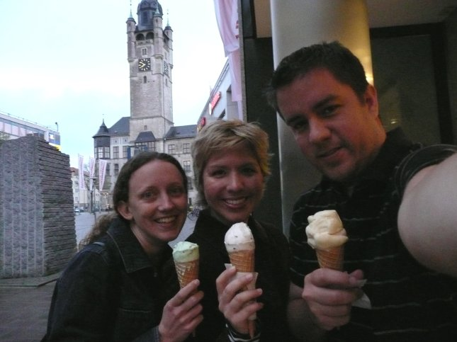 ice cream in dessau