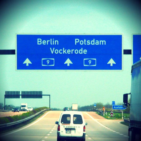 Autobahn...the local speedway