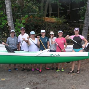 canoing in hawaii