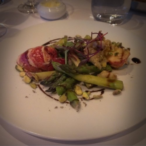 echaude lobster salad