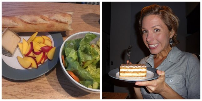 I might have been just slightly excited about my mille feuille....