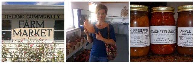The largest sweet potato I've ever seen - yum!