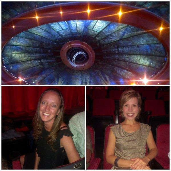 Cirque du Soleil O theater