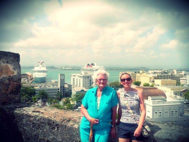 Karen and T in San Juan