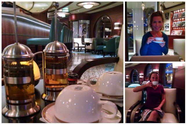 tea at Cove Cafe