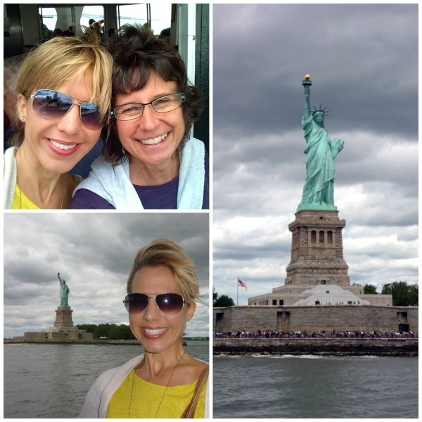 ferry to Liberty Island