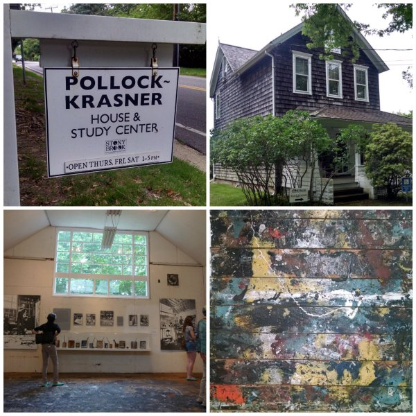 Jackson Pollocks house