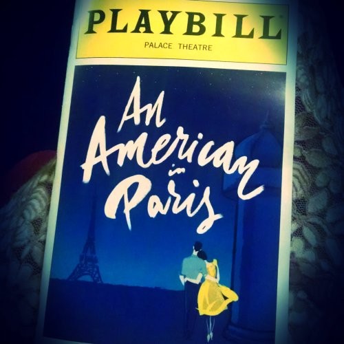 An American in Paris Playbill