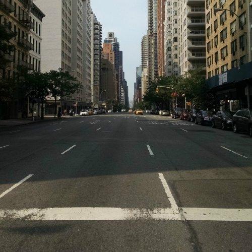 Empty streets NYC