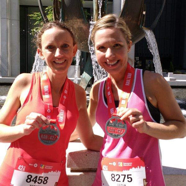 vancouver marathon finishers