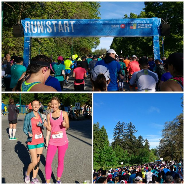 vancouver marathon race start