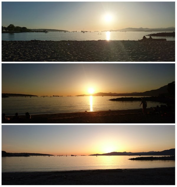 sunet at sunset beach vancouver